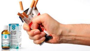 Nikostop Antistress drops, sestavine - stranski učinki?
